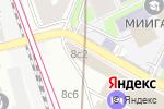 Схема проезда до компании Финанс онлайн в Москве