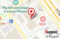 Схема проезда до компании Фабус в Москве