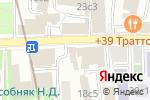 Схема проезда до компании Военная комендатура г. Москвы в Москве