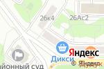 Схема проезда до компании Юридическая инициатива в Москве