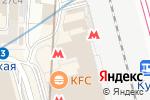 Схема проезда до компании Станция Курская в Москве