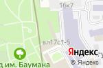 Схема проезда до компании Ангелфото в Москве