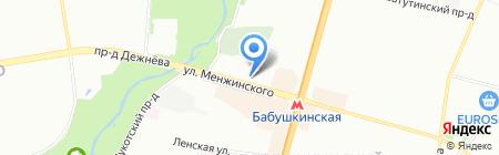 Латуж на карте Москвы