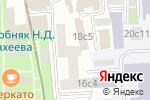 Схема проезда до компании In the Air в Москве