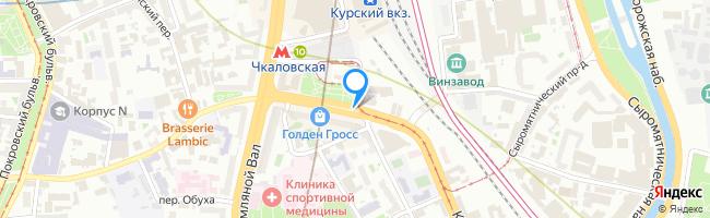 Верхняя Сыромятническая улица