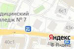 Схема проезда до компании Asha United, Ltd в Москве