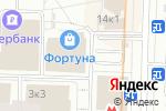 Схема проезда до компании Русь Окна в Москве
