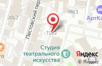 Схема проезда до компании Учебно-Методический Коллектор «Психология» в Москве