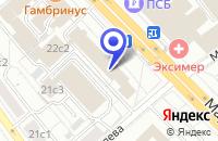 Схема проезда до компании ПТФ АТТИКА в Москве
