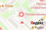 Схема проезда до компании Центр Ортопедических Приспособлений в Москве