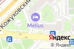 Схема проезда до компании Экстродент в Москве