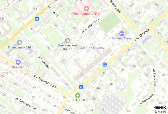 жилой комплекс Вертикаль