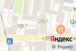 Схема проезда до компании Шишка Lounge в Москве