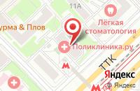 Схема проезда до компании Амма Экотехнология в Москве