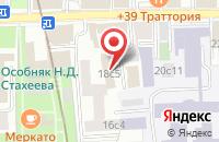 Схема проезда до компании Хеликоптур в Москве