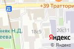Схема проезда до компании Cinema Hostel в Москве