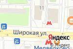 Схема проезда до компании Feedback в Москве