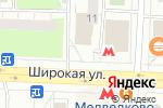 Схема проезда до компании Деньга-Бизнес в Москве