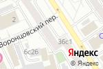 Схема проезда до компании Мобилон в Москве