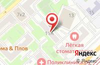 Схема проезда до компании Стройтранском в Москве