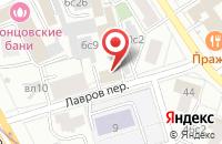 Схема проезда до компании Телекомпания-Твм в Москве