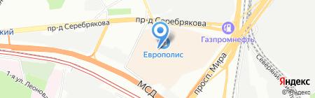 СушиЕд на карте Москвы