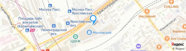 Краснопрудный переулок