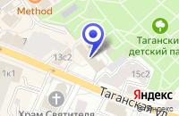 Схема проезда до компании МУЗЕЙ МЕБЕЛИ в Москве