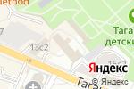 Схема проезда до компании Школа мастеров в Москве
