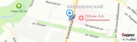 Империал на карте Москвы