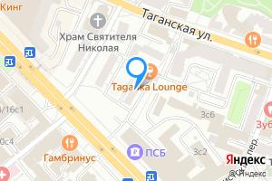 Комната в трехкомнатной квартире в Москве м. Марксистская, Таганская улица, 24с4