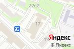 Схема проезда до компании Русский Авангард в Москве