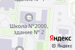 Схема проезда до компании 10 Танцев в Москве