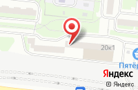 Схема проезда до компании Промспецмонтаж в Москве