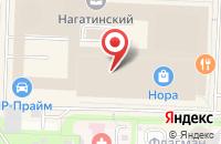 Схема проезда до компании Тенденция в Москве