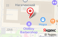 Схема проезда до компании Прадо в Москве