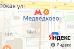 Схема проезда до компании Компьютерная помощь в Москве