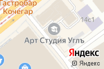 Схема проезда до компании Хрустальный город в Москве