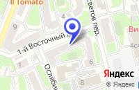 Схема проезда до компании LIGHT SOUND DESIGN в Москве