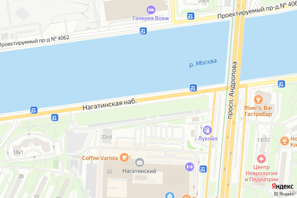 Ремонт телевизоров Нагатинская набережная на яндекс карте