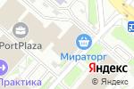Схема проезда до компании Simona в Москве