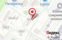 Схема проезда до компании Гленус в Москве