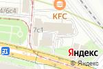 Схема проезда до компании Uberfon в Москве