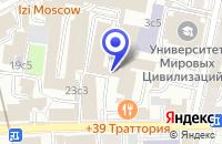 Схема проезда до компании ПТФ МАШТЕХИНВЕСТ в Москве