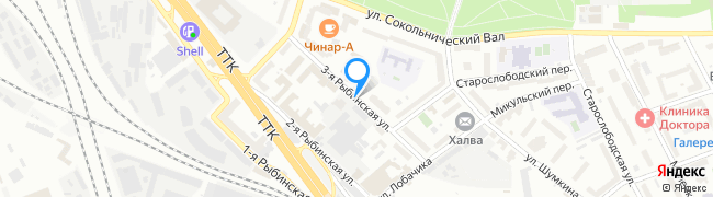 улица Рыбинская 3-я