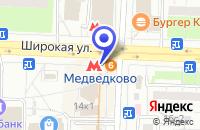 Схема проезда до компании МЕБЕЛЬНЫЙ САЛОН VERONA CUCINE в Москве