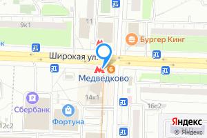 Сдается комната в двухкомнатной квартире в Москве м. Бабушкинская метро медведкого