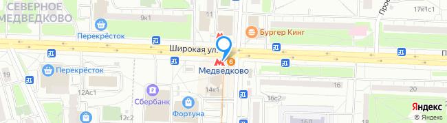 метро Медведково