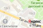 Схема проезда до компании Старт-Инвест в Москве