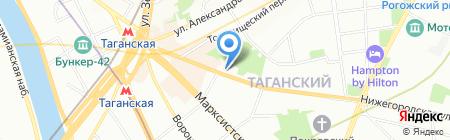 У Серёги на карте Москвы